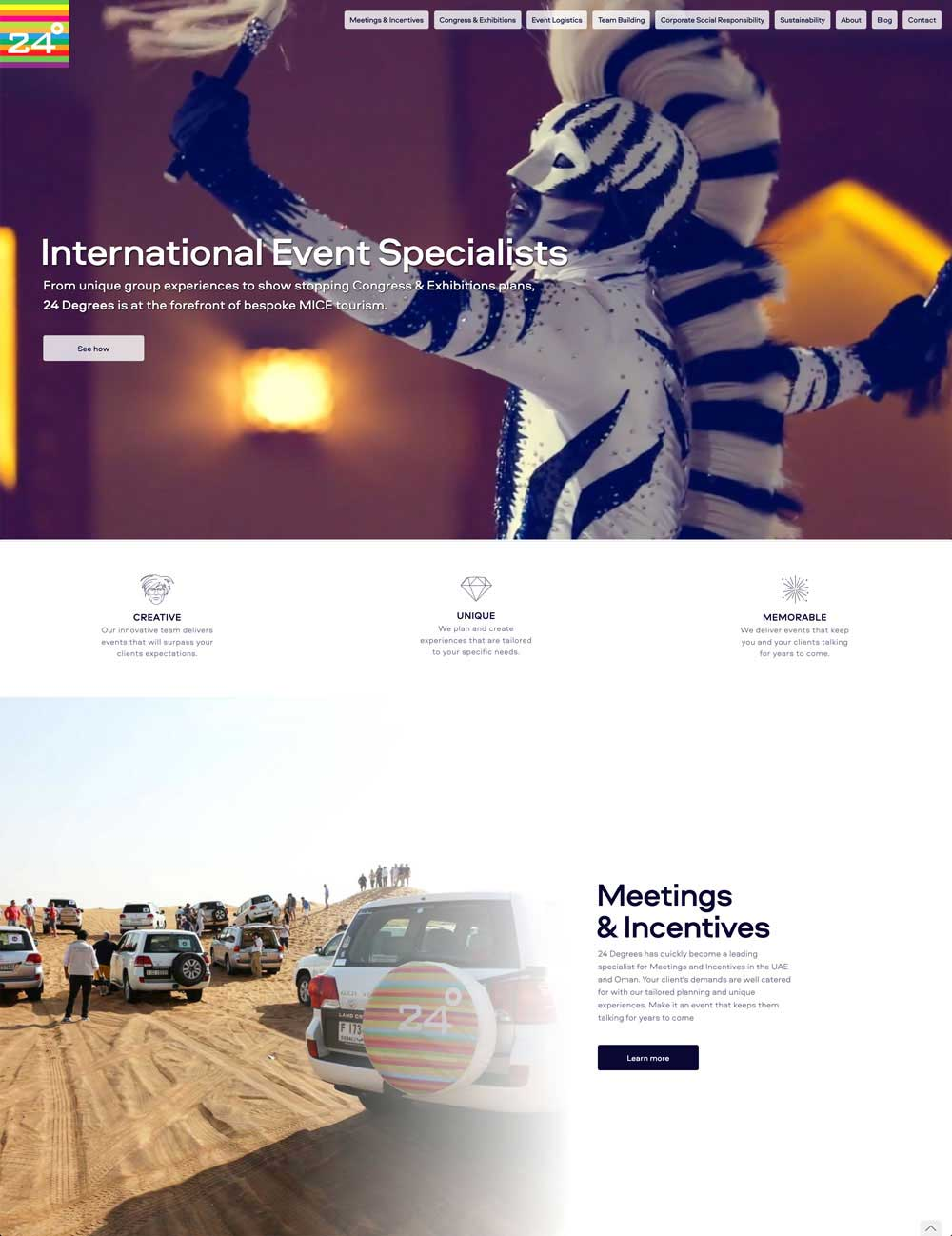 Expertise.tv website design and creative direction
