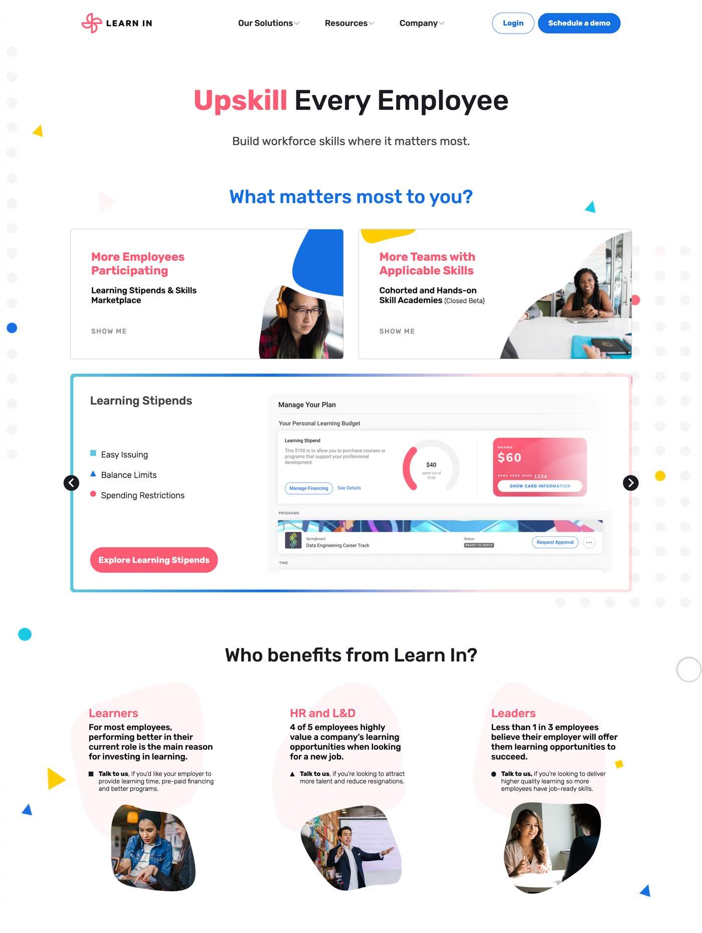 GGG website design using Webflow