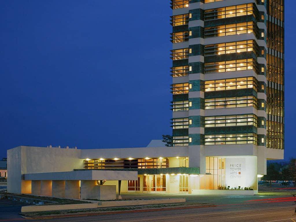 Inn at price tower- Architettura e viaggi di nozze