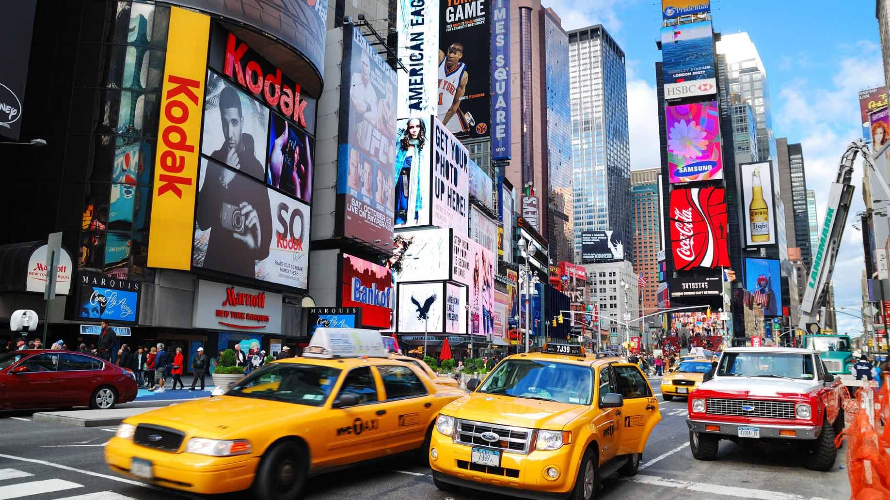Viaggio di nozze negli Stati Uniti New York