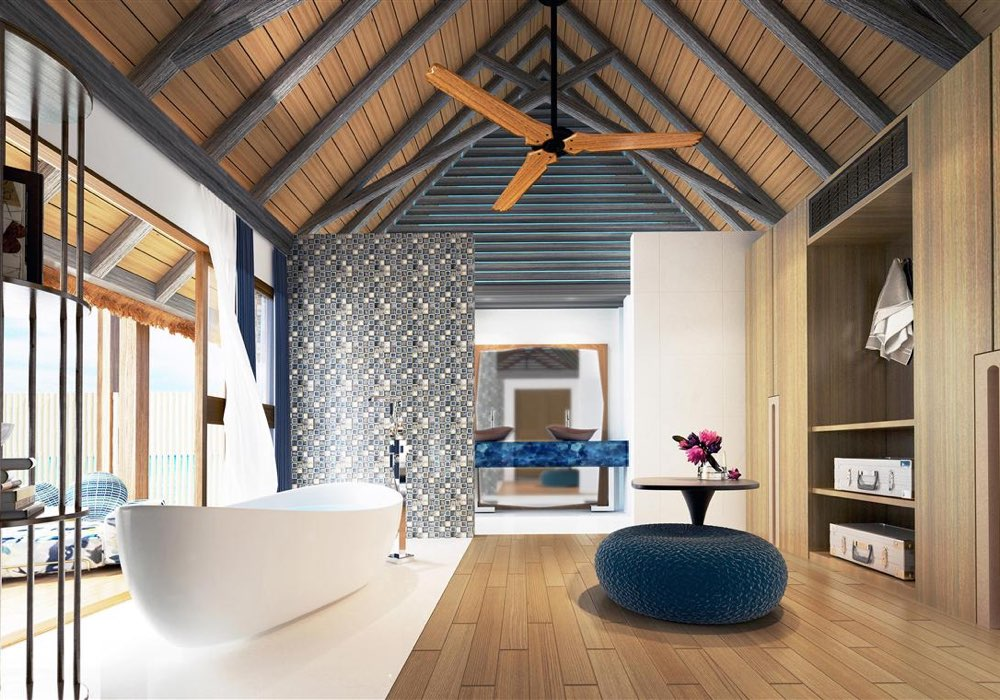 Ozen By Atmosphere at Maadhoo all inclusive Maldive overwater villa