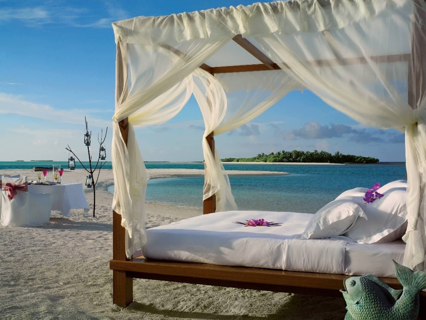 Una notte su un'isola privata alle maldive - Esperienze uniche viaggio di nozze