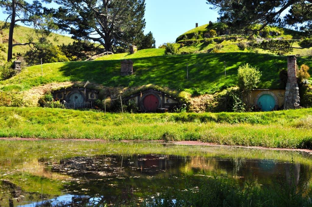viaggio di nozze da star - Hobbiton resort