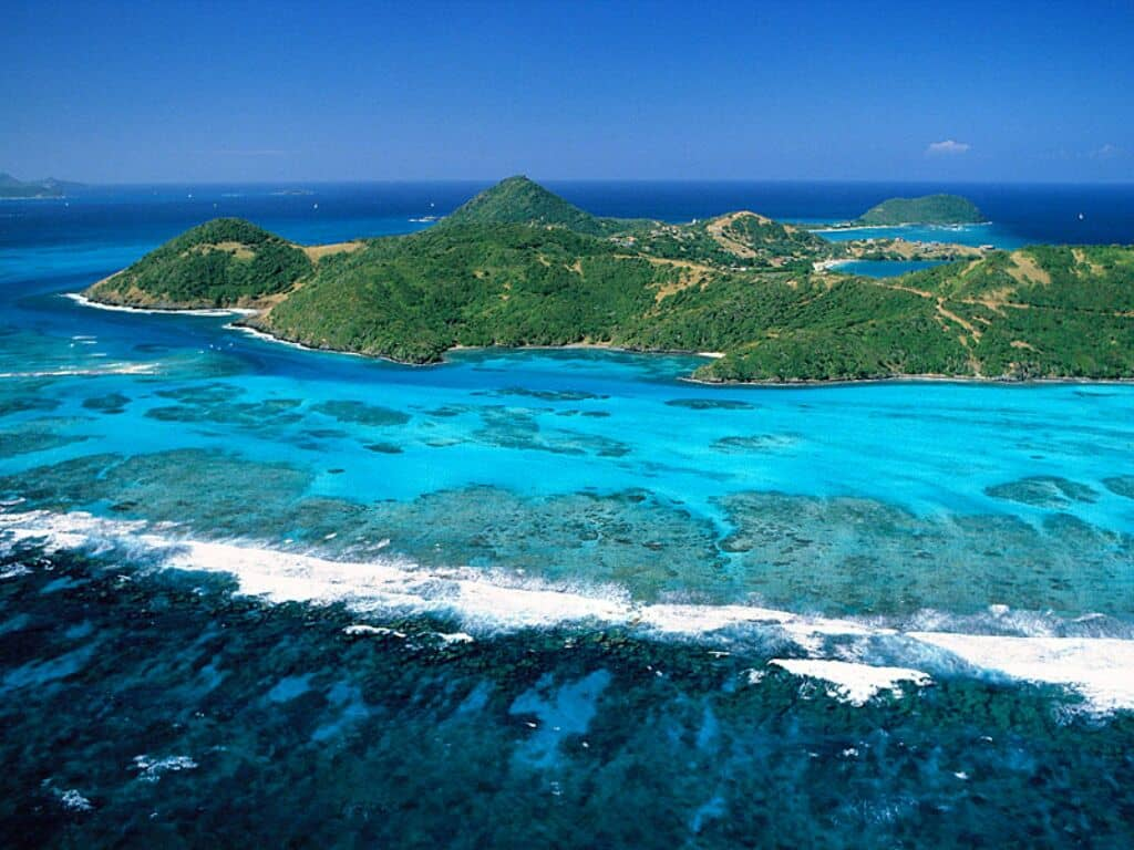 Viaggio di nozze da star - Pirati dei caraibi, Saint Vincent