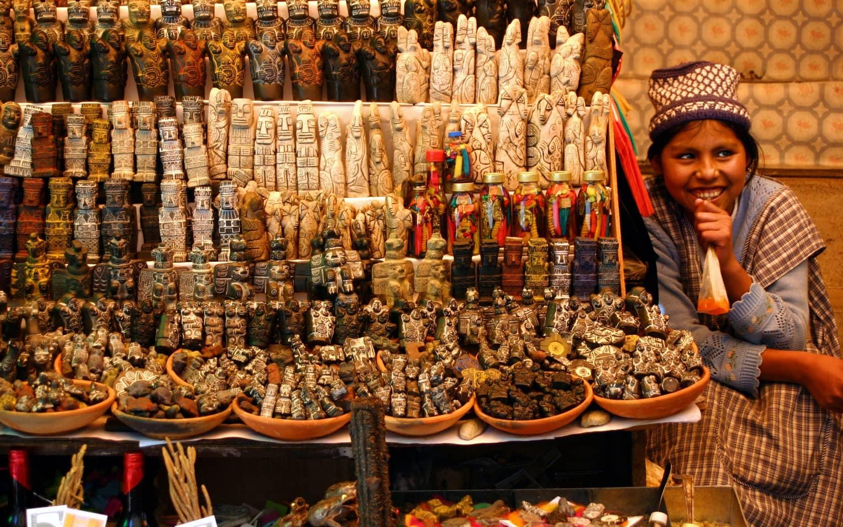 bolivia witch market