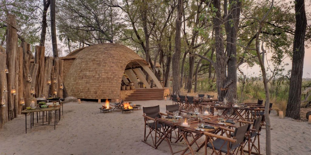 Luxury Safari Lodge Sandibe Botswana