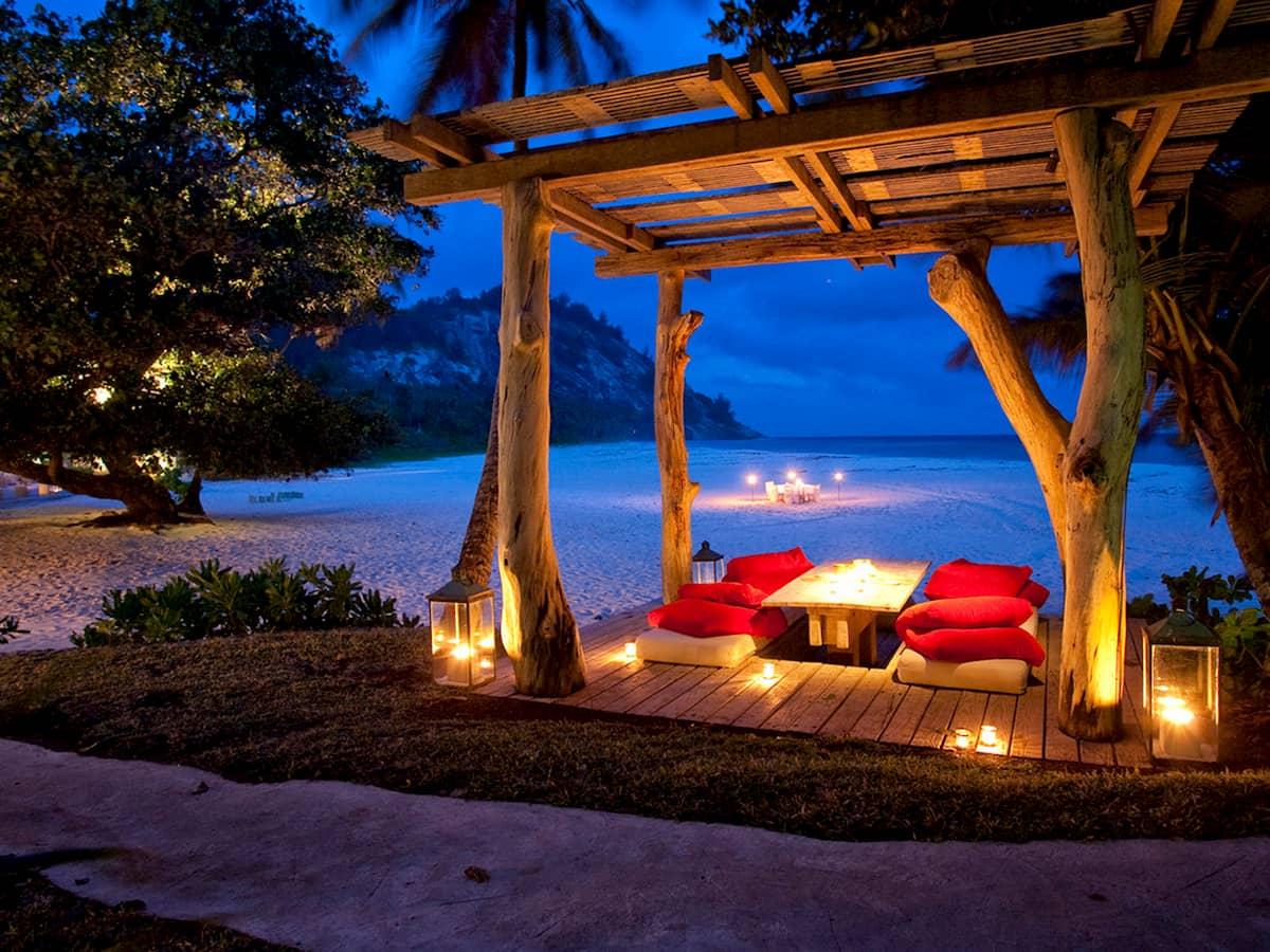 Seychelles cena romantica