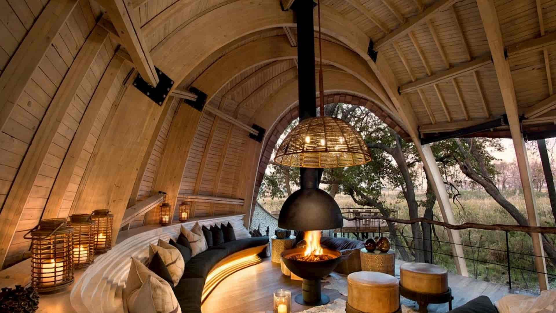 Luxury Safari Lodge Sandibe Okavango Delta