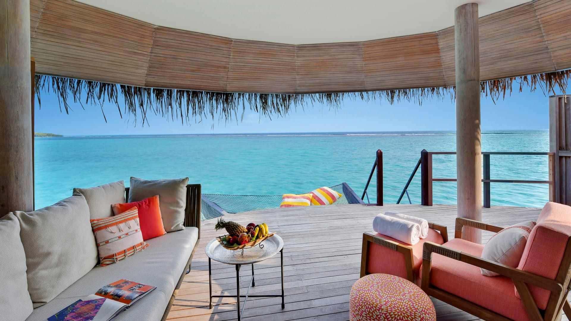 Resort 5 stelle Maldive Kanuhura water villa