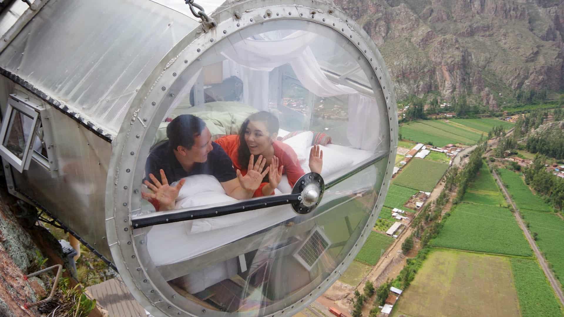 Skylodge Adventure Suites - Viaggio di nozze Perù