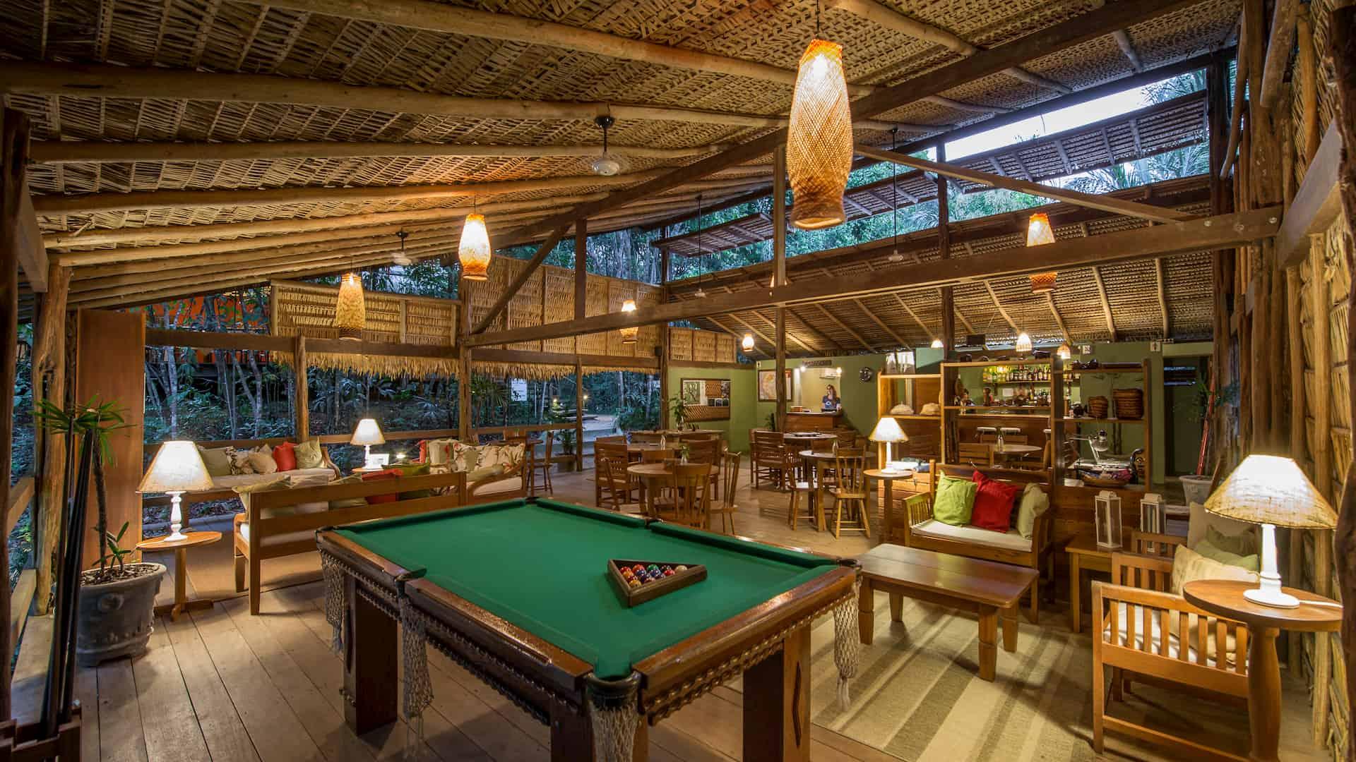 Anavilhanas Jugle Lodge resort 5 stelle Brasile