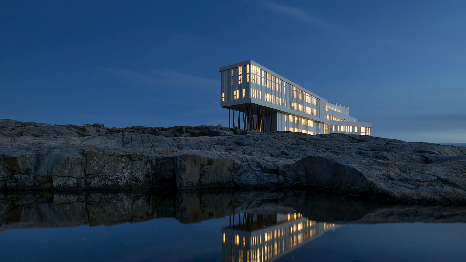 Design hotel Canada Fogo Island Inn
