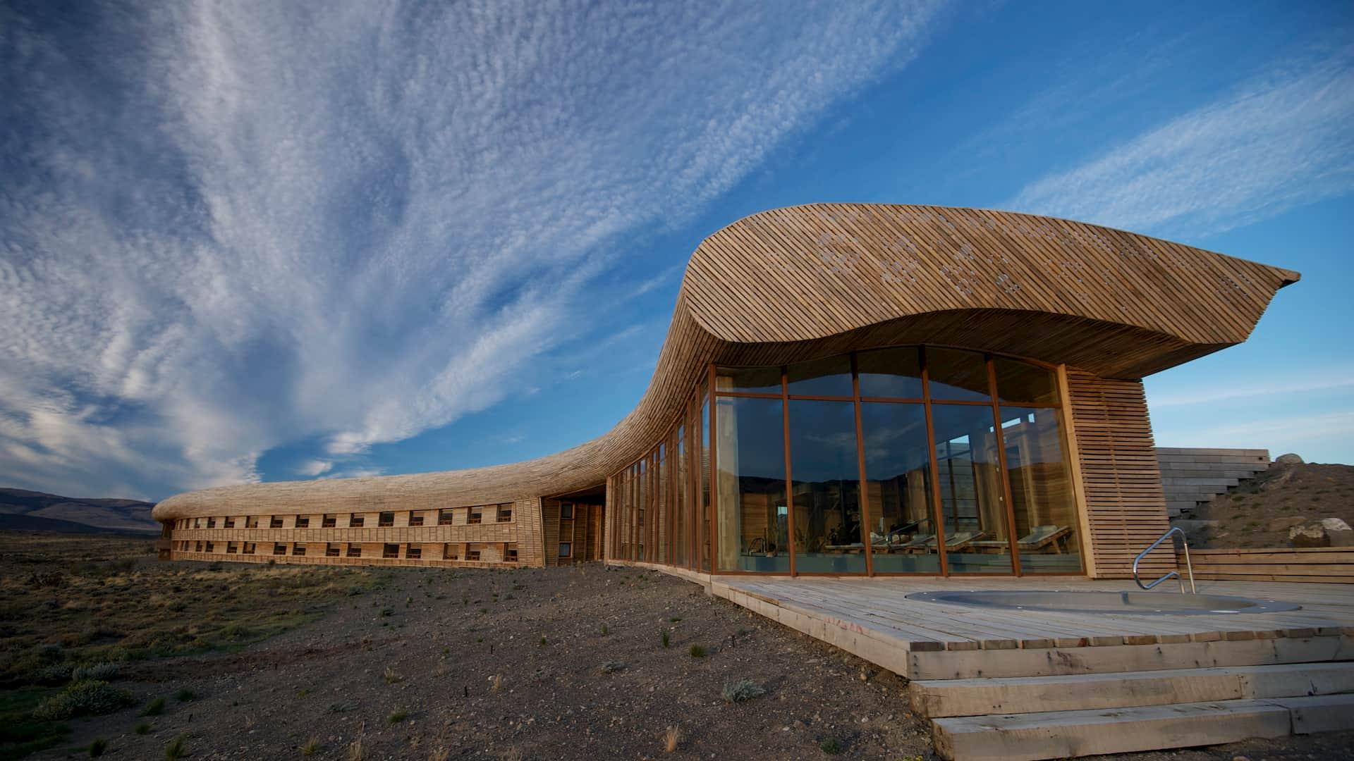 Design hotel Cile Tierra Patagonia