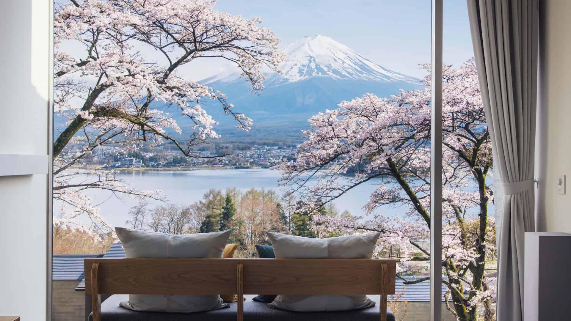 Design hotel Giappone hoshinoya fuji
