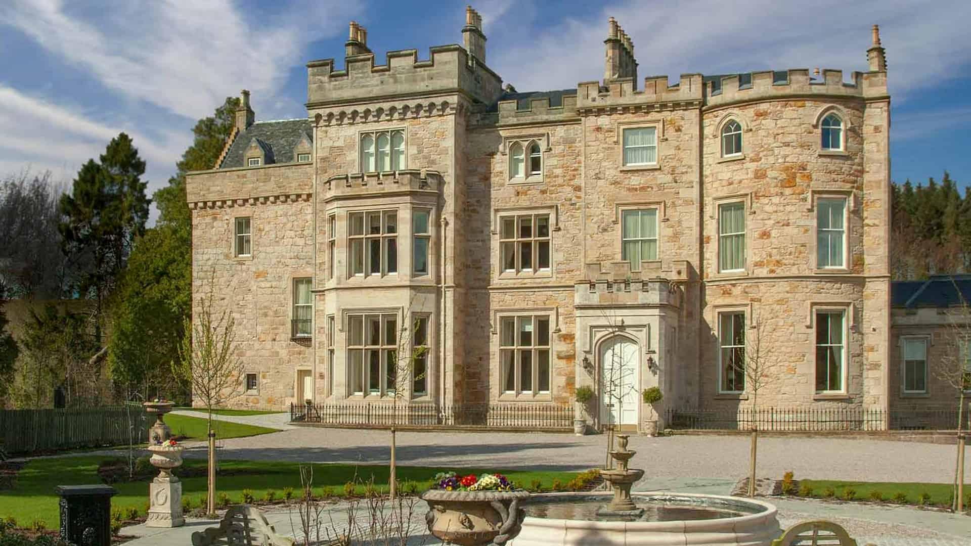 proposta di matrimonio in un castello