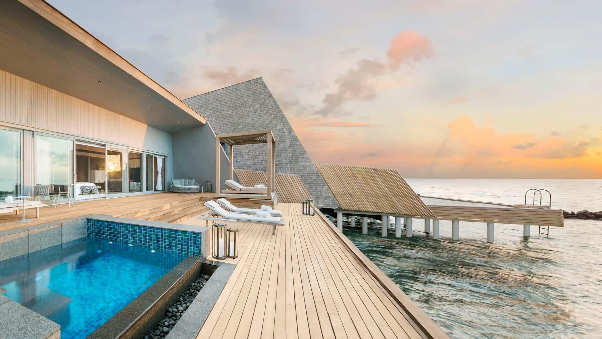 Overwater Maldive St Regis Maldive
