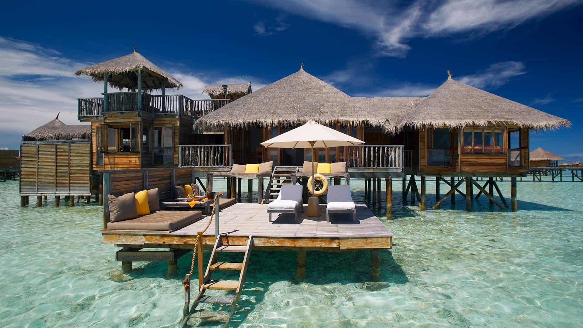 Overwater Maldive Glilankanfushi