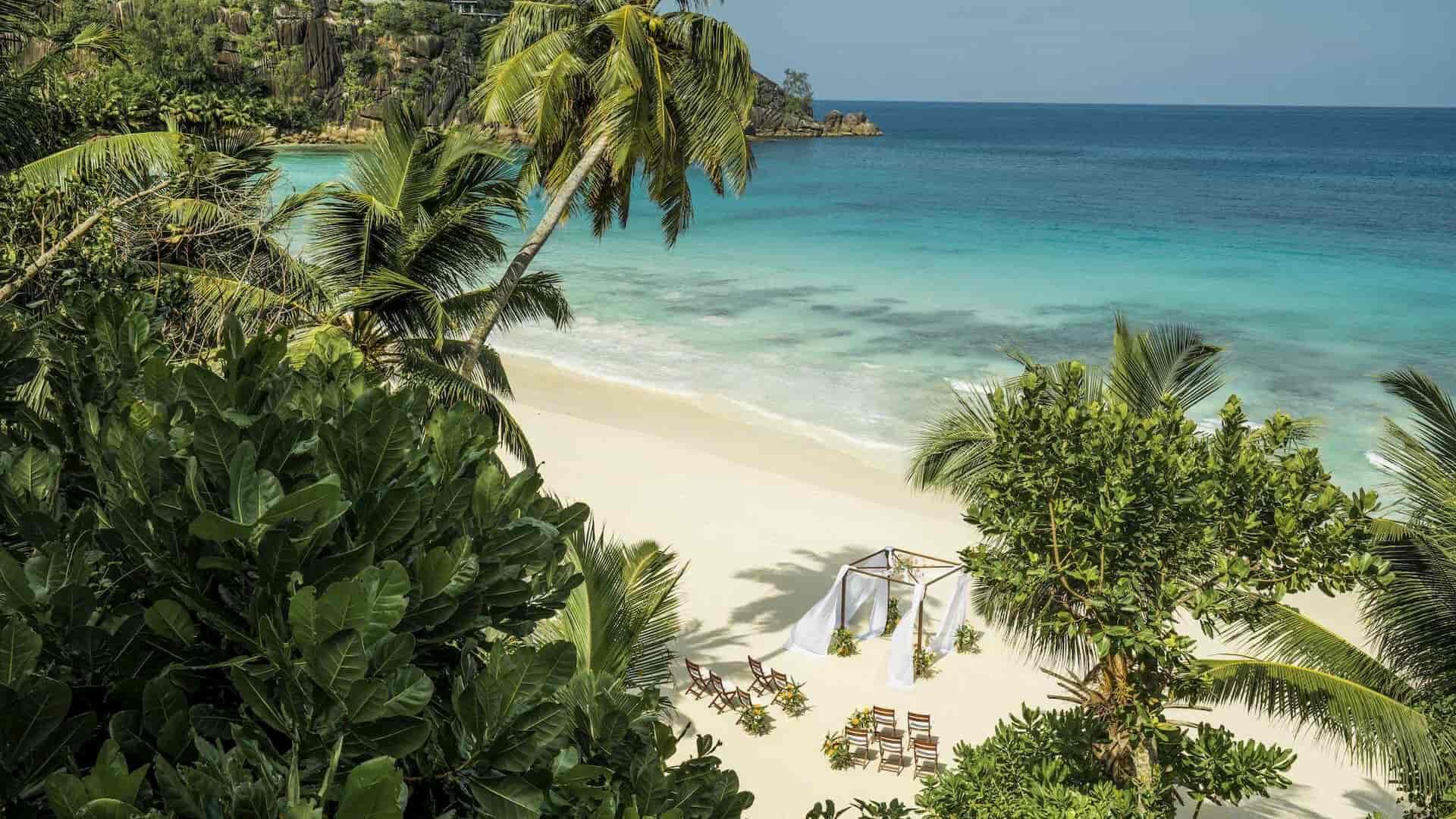 Matrimonio alle Seychelles Four Season