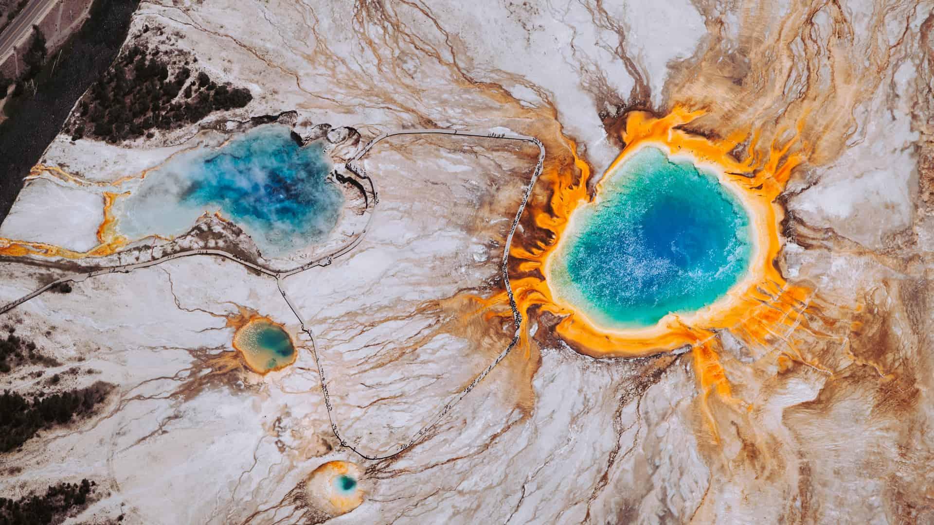 Viaggio di nozze negli Stati Uniti Yellowstone