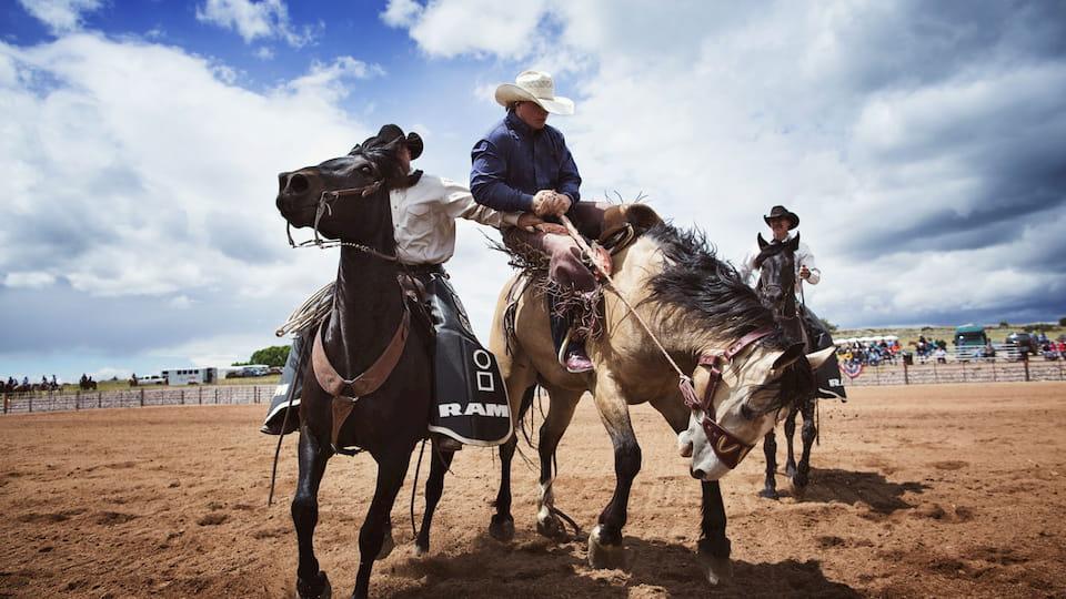 Viaggio di nozze negòi Stati Uniti Cowboy