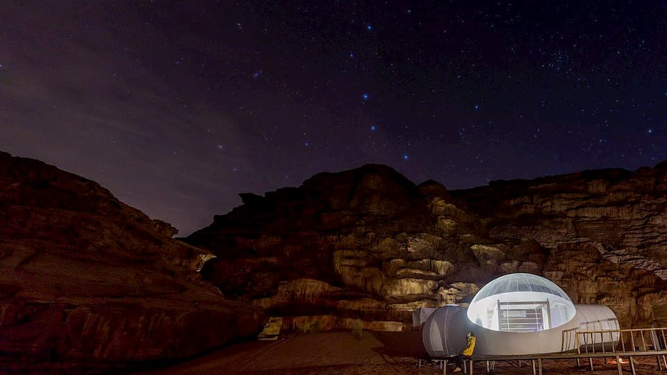 Glamping Wadi Room Wadi Rum Night Luxury Night
