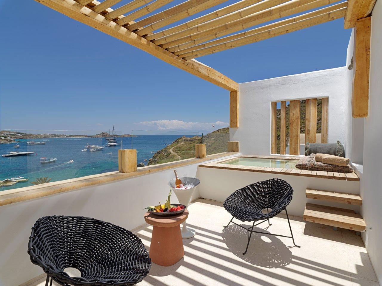 Kensho Psarou Beach Hotel viaggio di nozze in Grecia 2