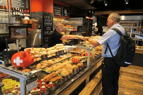Kuhn Back & Gastro AG Filialen sind mit der Kassenlösung von HS-Soft ausgestattet