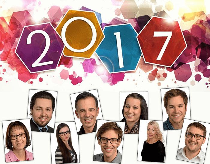 Wir wünschen Ihnen ein frohes neues Jahr 2017