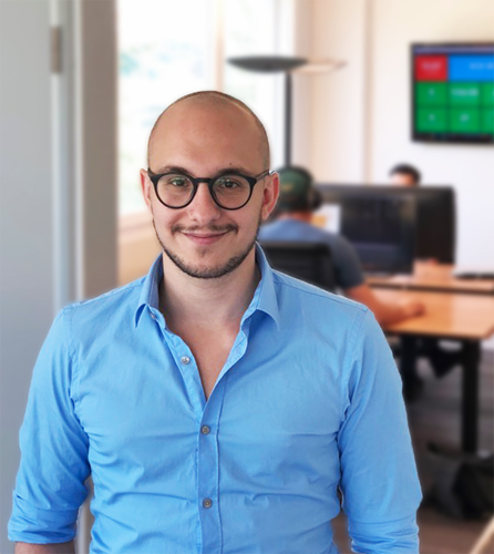 Ausbau des HS-Soft Teams durch Fabio Bonolo