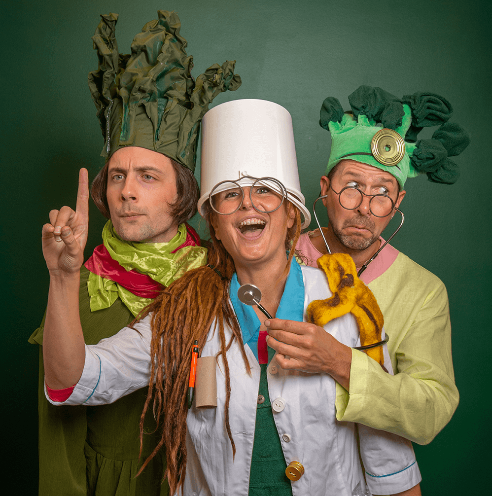 Gunvor Grönkål, Professor Skräp och Doktor Broccoli