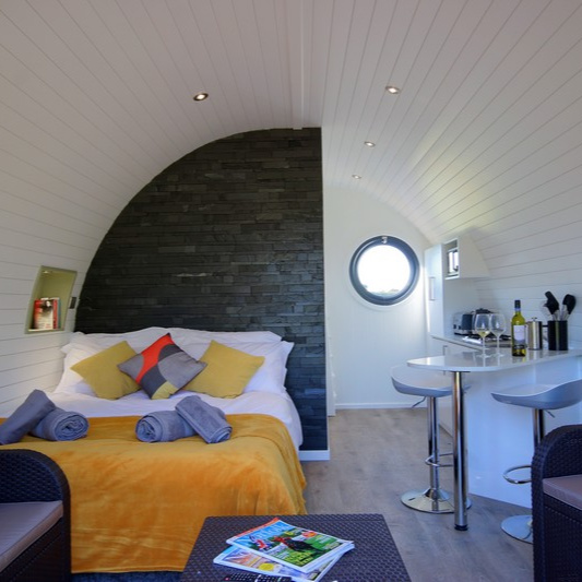 Glamping Pod - King Size Bed