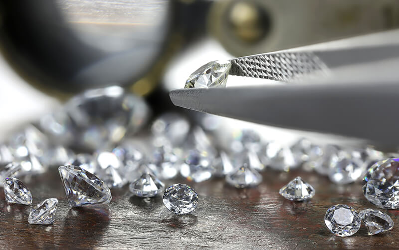Image showing diamond selection with tools