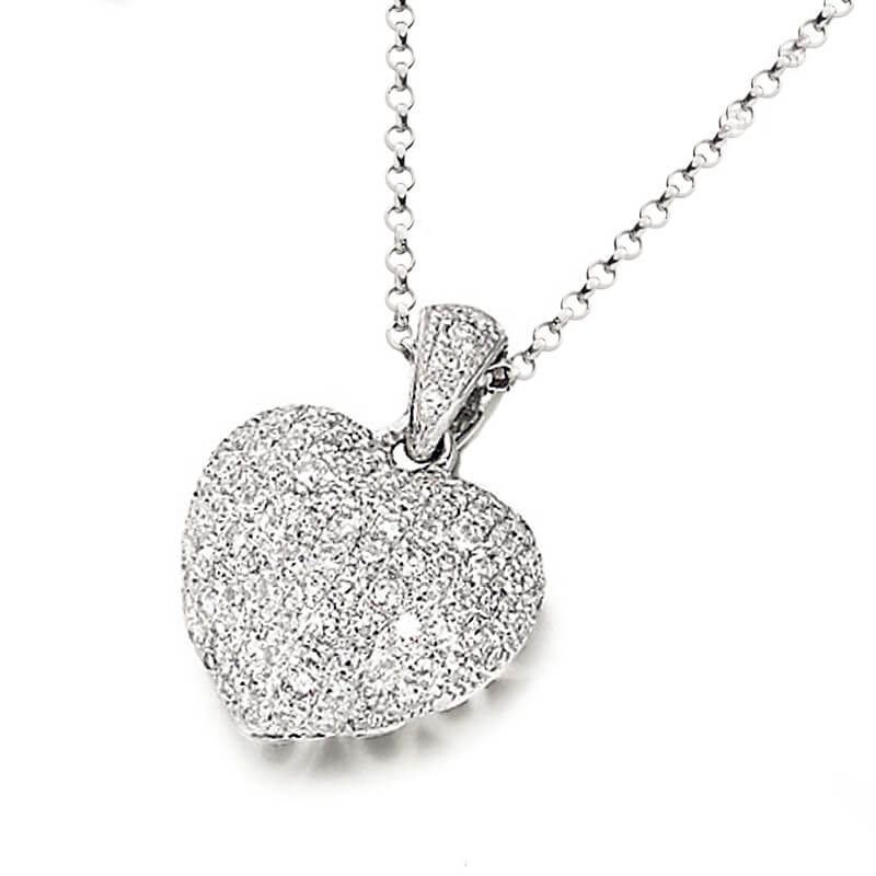 Diamond earrings & pendant sets