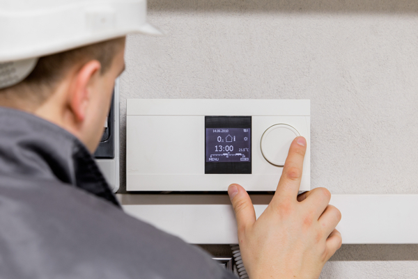 installing a thermostat in a louisville home