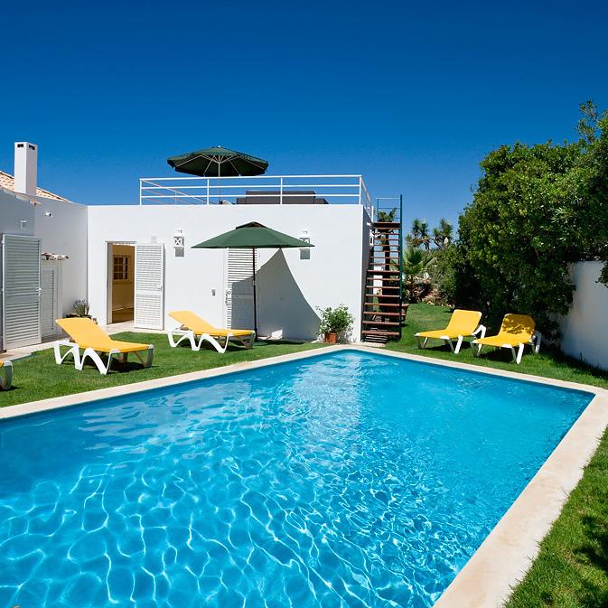 swimming pool villas algarve