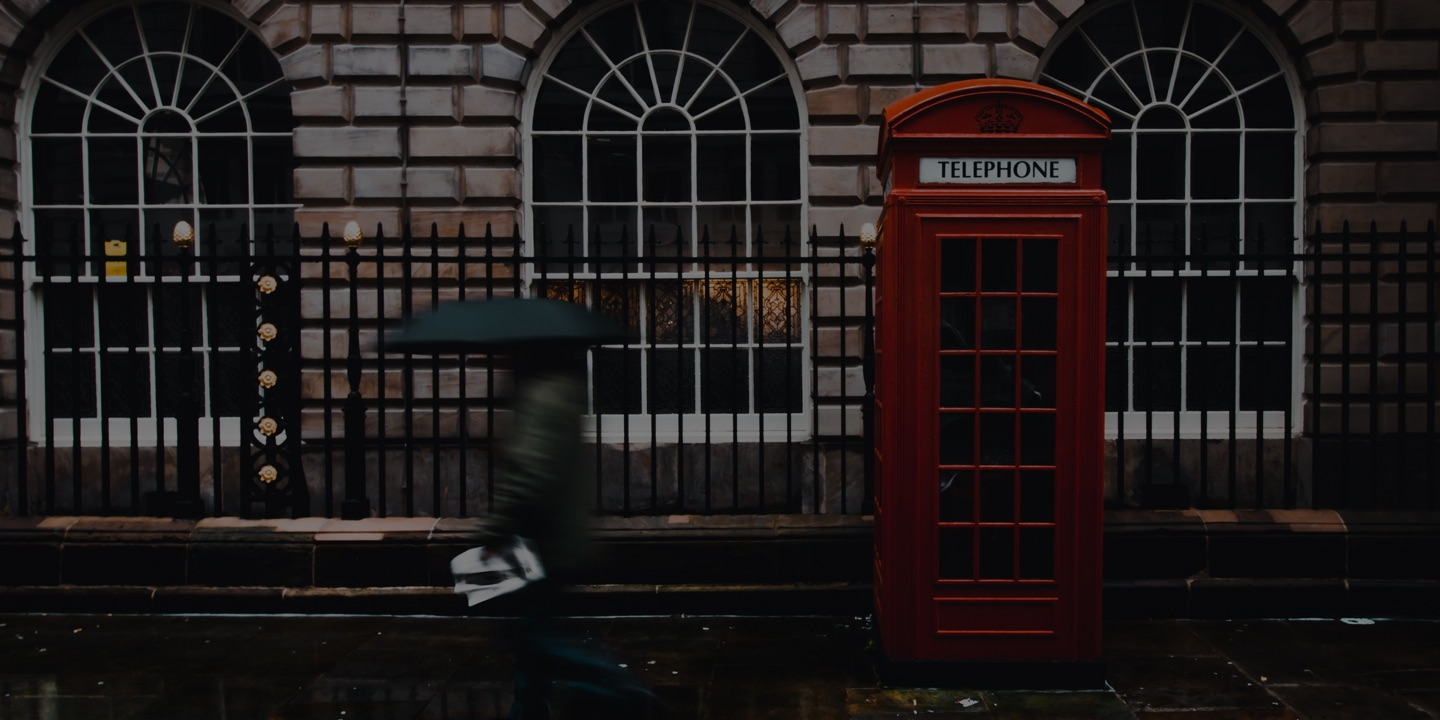 UK telephone booth