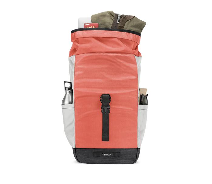Custom Tuck Backpack Front Filled