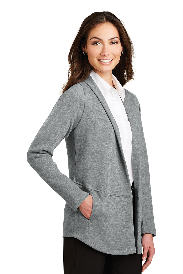 Port Authority Ladies Interlock Cardigan L807