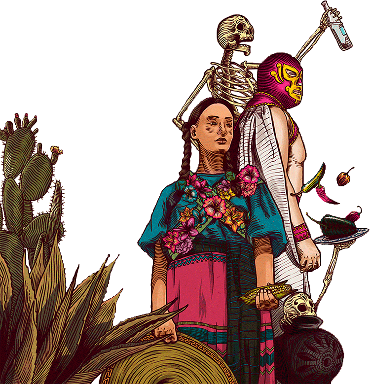 Mucho Mas illustration