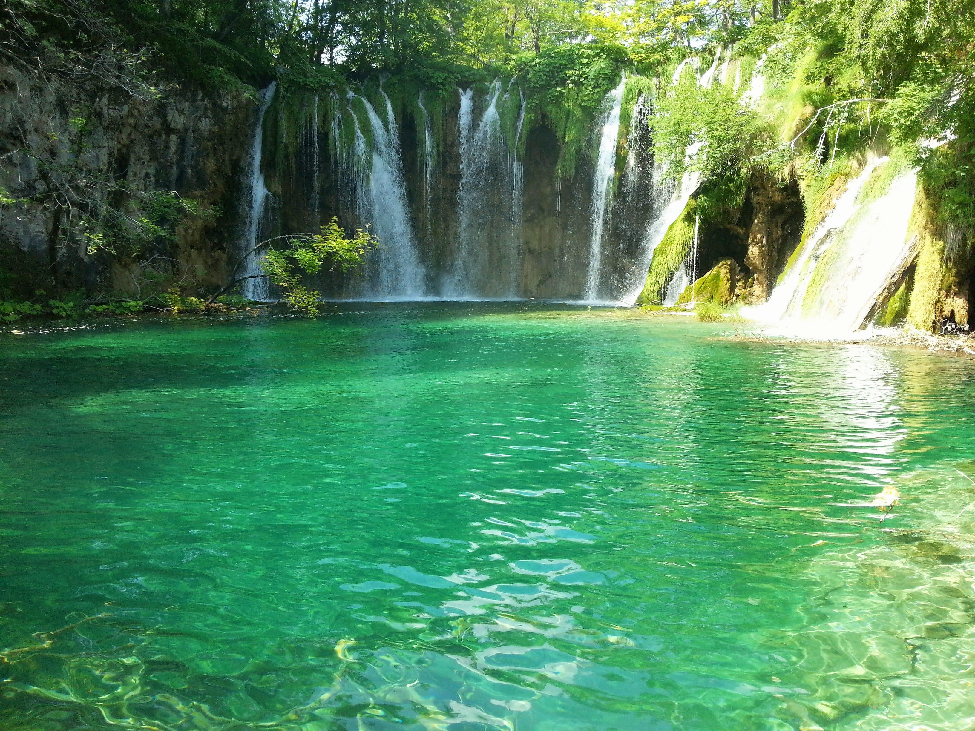 водопад, плитвички водопад, oatsandberries