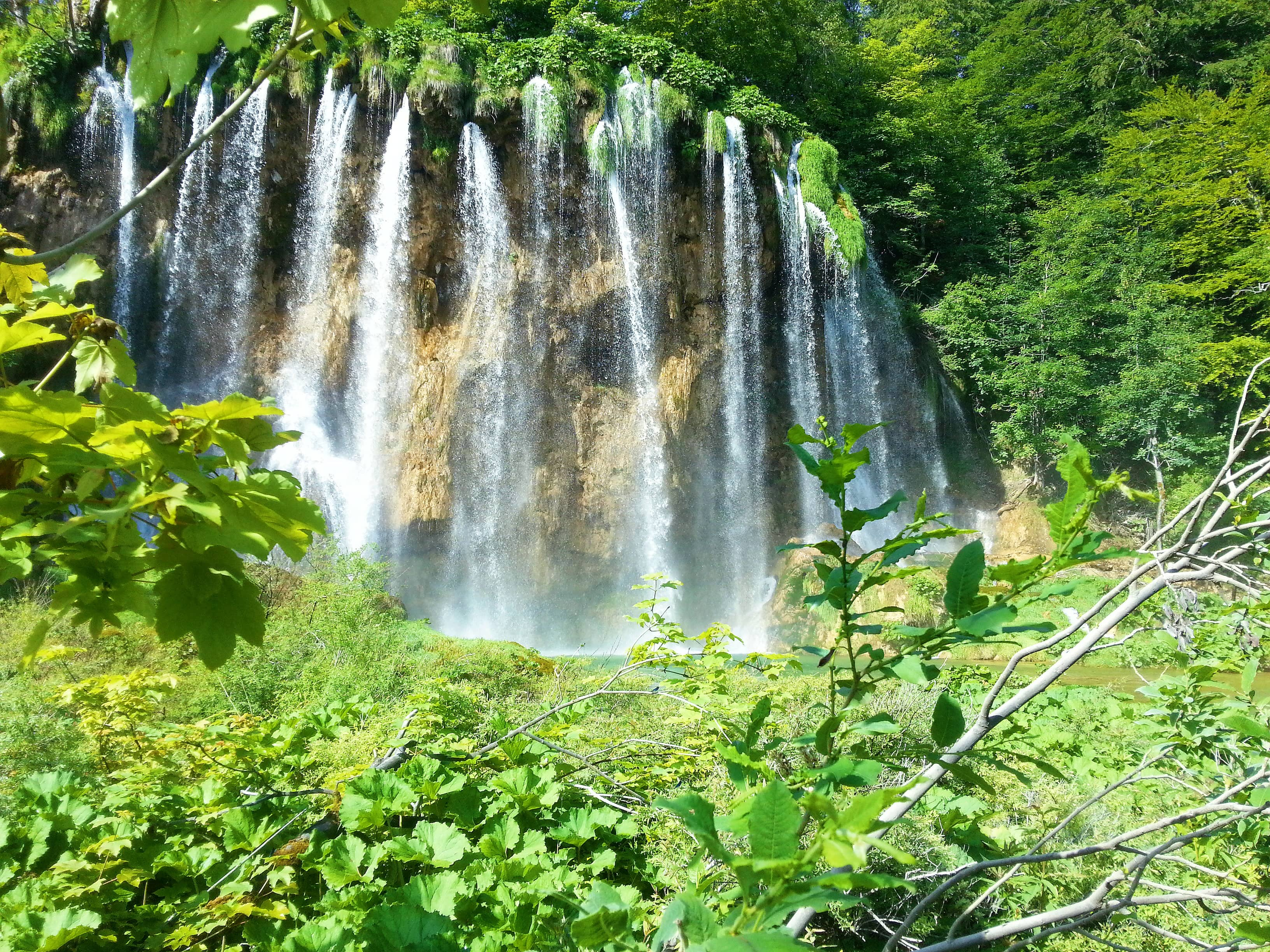 водопад, плитвички, oatsandberries