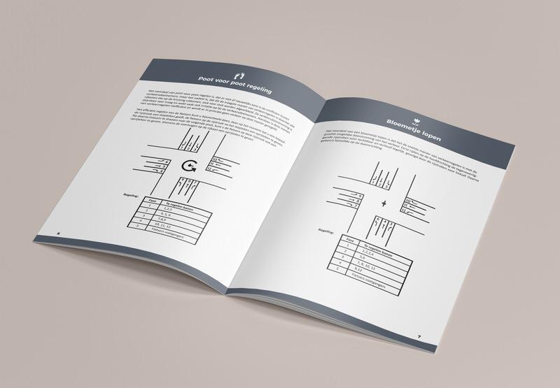 Kruisingenhandboek design voor de gemeente Rotterdam, Design/layout boek + graphics.