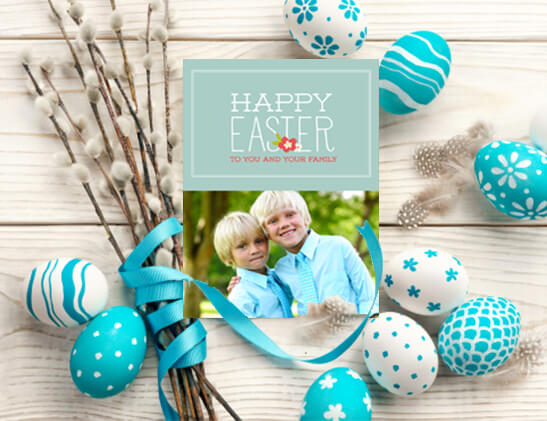Custom Easter Photo Cards
