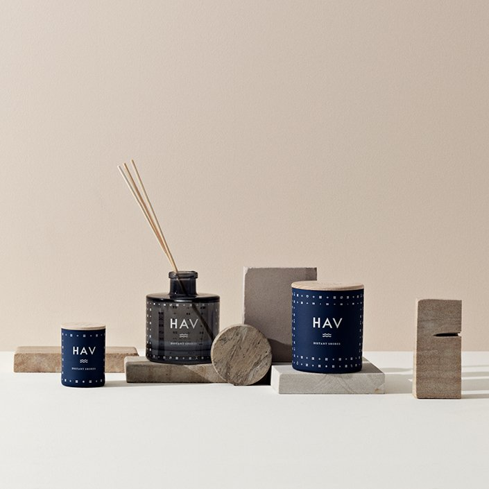 Vacation inspired candles for the home
