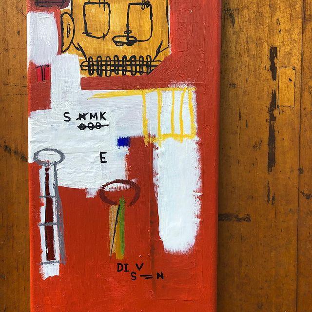 Kerri Greens x artist Joshua Searle