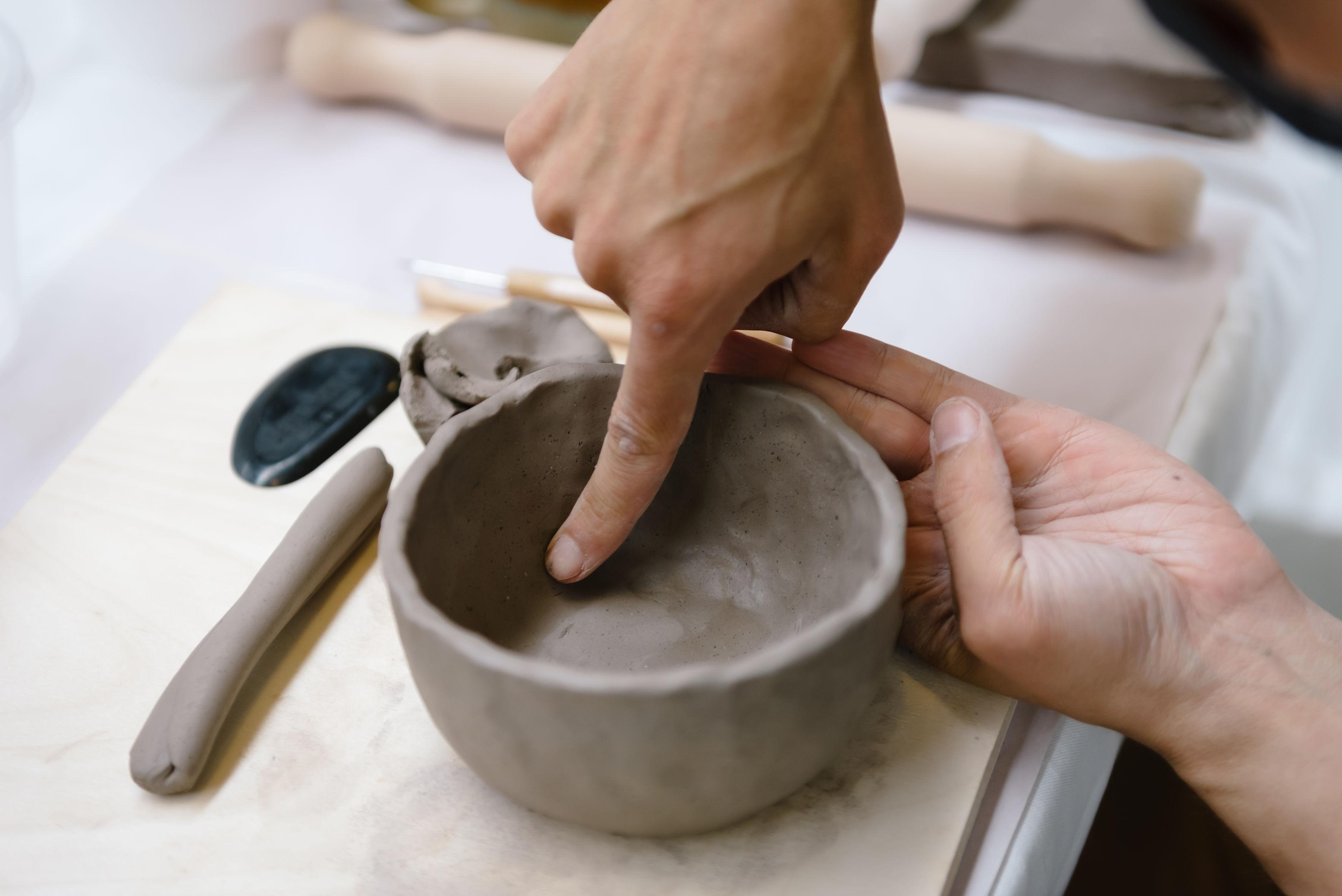 Stoker Studio's Clay and Sip Kits