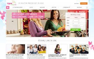 Image du site de la startup ligne-en-ligne.com