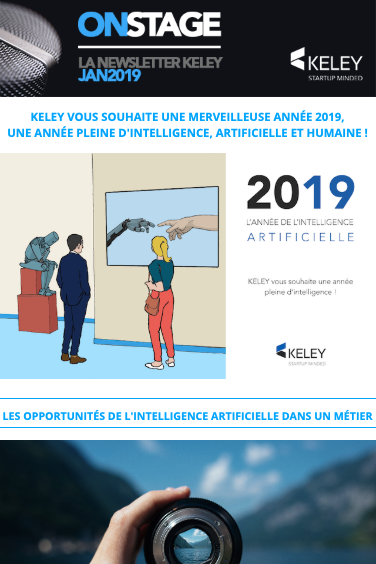 Capture de la newsletter Keley du mois de novembre