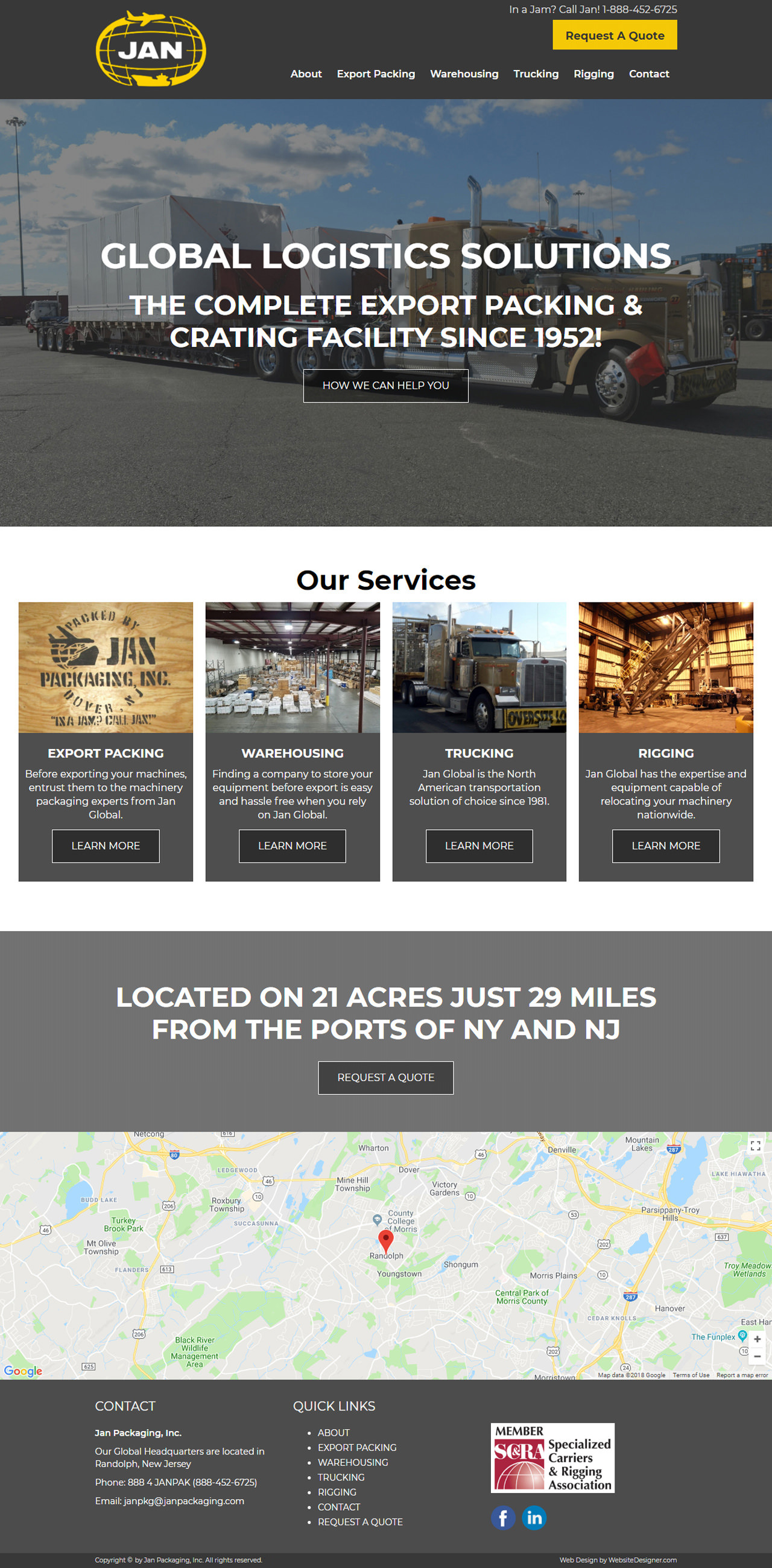 Jan Packaging, Inc. Home Page