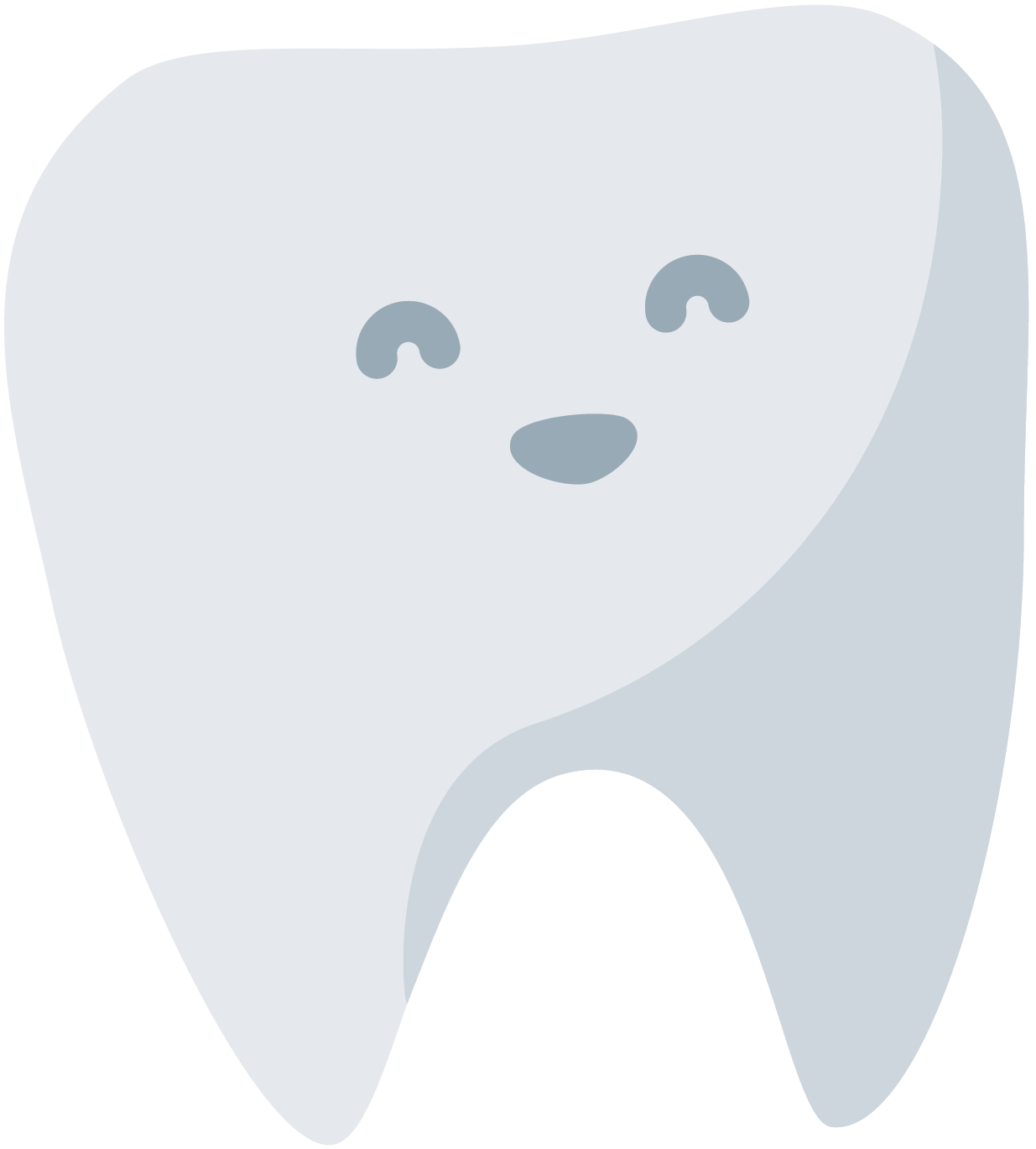 animated smiling tooth
